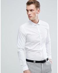 Camicia a maniche lunghe bianca di Burton Menswear