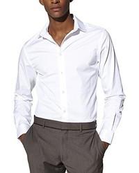 Camicia a maniche lunghe bianca di Celio