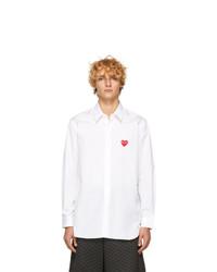 Camicia a maniche lunghe bianca di Comme Des Garcons Play
