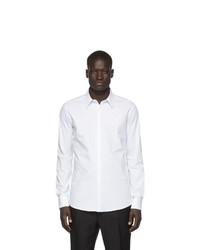 Camicia a maniche lunghe bianca di Fendi