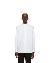 Camicia a maniche lunghe bianca di Givenchy