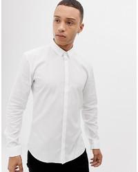 Camicia a maniche lunghe bianca di Hugo