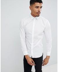 Camicia a maniche lunghe bianca di Jack & Jones