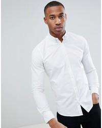 Camicia a maniche lunghe bianca di ONLY & SONS