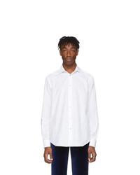 Camicia a maniche lunghe bianca di Paul Smith