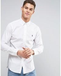 Camicia a maniche lunghe bianca di Polo Ralph Lauren