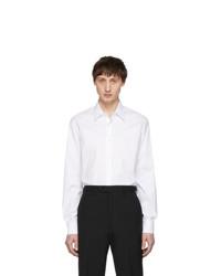 Camicia a maniche lunghe bianca di Prada