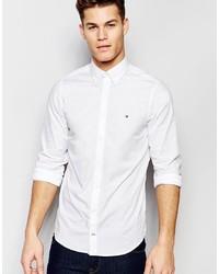 Camicia a maniche lunghe bianca di Tommy Hilfiger