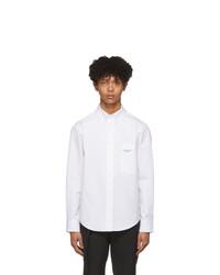 Camicia a maniche lunghe bianca di Wooyoungmi