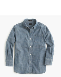 Camicia a maniche lunghe blu