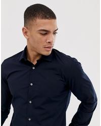 Camicia a maniche lunghe blu scuro di French Connection