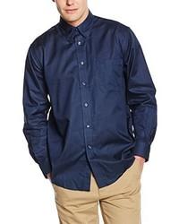 Camicia a maniche lunghe blu scuro di Fruit of the Loom