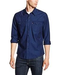 Camicia a maniche lunghe blu scuro di Levi's
