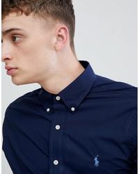 Camicia a maniche lunghe blu scuro di Polo Ralph Lauren