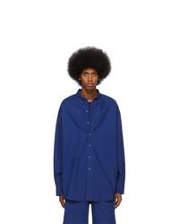 Camicia a maniche lunghe blu scuro di Sies Marjan