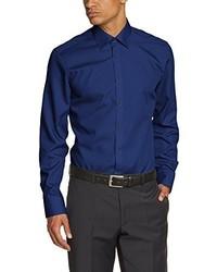 Camicia a maniche lunghe blu scuro di Venti
