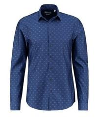 Camicia a maniche lunghe blu di Calvin Klein