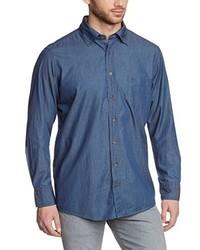 Camicia a maniche lunghe blu di Casamoda