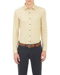 Camicia a maniche lunghe gialla