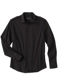 Camicia a maniche lunghe nera