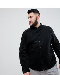 Camicia a maniche lunghe nera di Another Influence