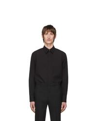 Camicia a maniche lunghe nera di Givenchy