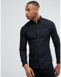 Camicia a maniche lunghe nera di ONLY & SONS