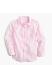 Camicia a maniche lunghe rosa
