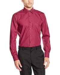 Camicia a maniche lunghe rossa di Casamoda