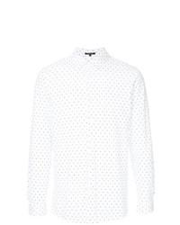Camicia a maniche lunghe stampata bianca e nera di GUILD PRIME