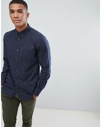 Camicia a maniche lunghe stampata blu scuro di French Connection