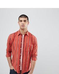 Camicia a maniche lunghe stampata rossa di Nudie Jeans