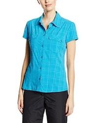 Camicia azzurra di Salewa