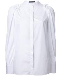 Camicia bianca di Alexander McQueen