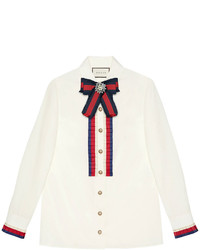 Camicia bianca di Gucci
