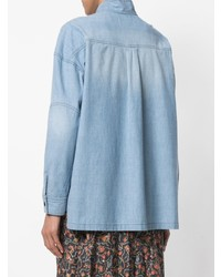 Camicia di jeans azzurra di Isabel Marant Etoile