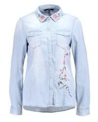 Camicia di jeans azzurra di Vero Moda