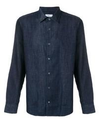 Camicia di jeans blu scuro di Closed