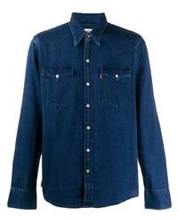 Camicia di jeans blu scuro di Levi's