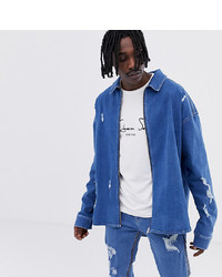 Camicia di jeans blu di ASOS DESIGN