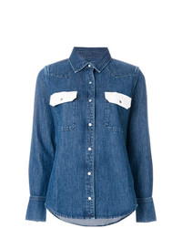 Camicia di jeans blu di Calvin Klein Jeans