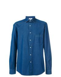 Camicia di jeans blu di Fashion Clinic Timeless