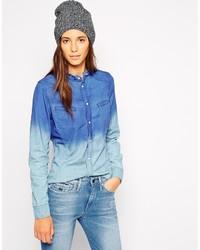 Camicia di jeans blu di G Star