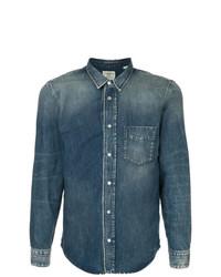 Camicia di jeans blu di Kent & Curwen