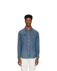 Camicia di jeans blu di Polo Ralph Lauren