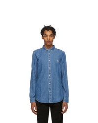 Camicia di jeans blu di Ps By Paul Smith