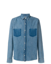 Camicia di jeans blu di RtA