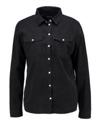 Camicia di jeans nera di Even&Odd