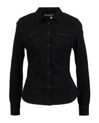 Camicia di jeans nera di Lee