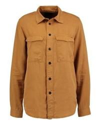 Camicia di jeans terracotta